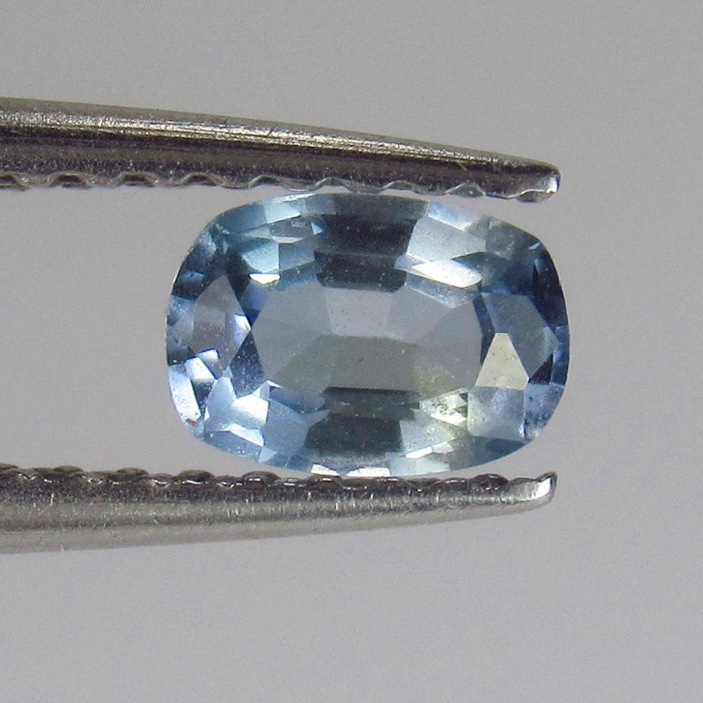 0.43 Ctw Natural Blue Sapphire Cushion Cut