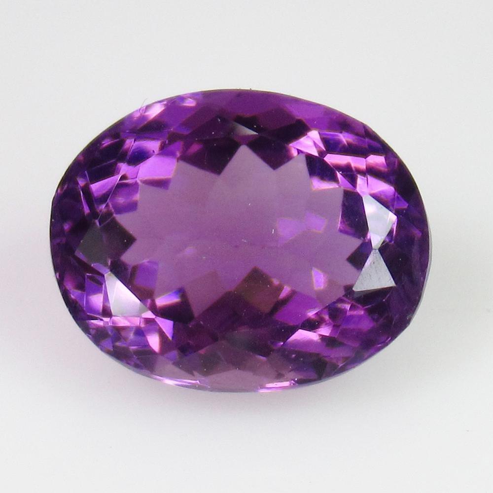 5.70 Ct Genuine Purple Amethyst Oval Cut