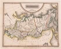 1823 Arrowsmith Map of Russia in Asia -- Russia in Asia