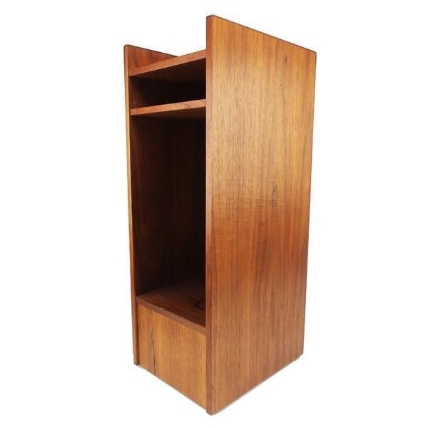 Small Danish Modern Teak Shelf