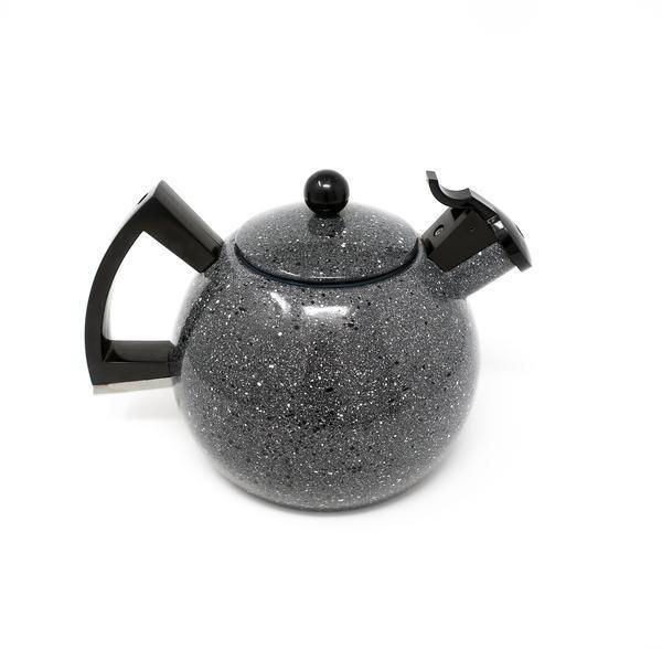 Copco Porcelain White Enamel Tea Kettle