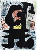 Joan Miro original lithograph 1967