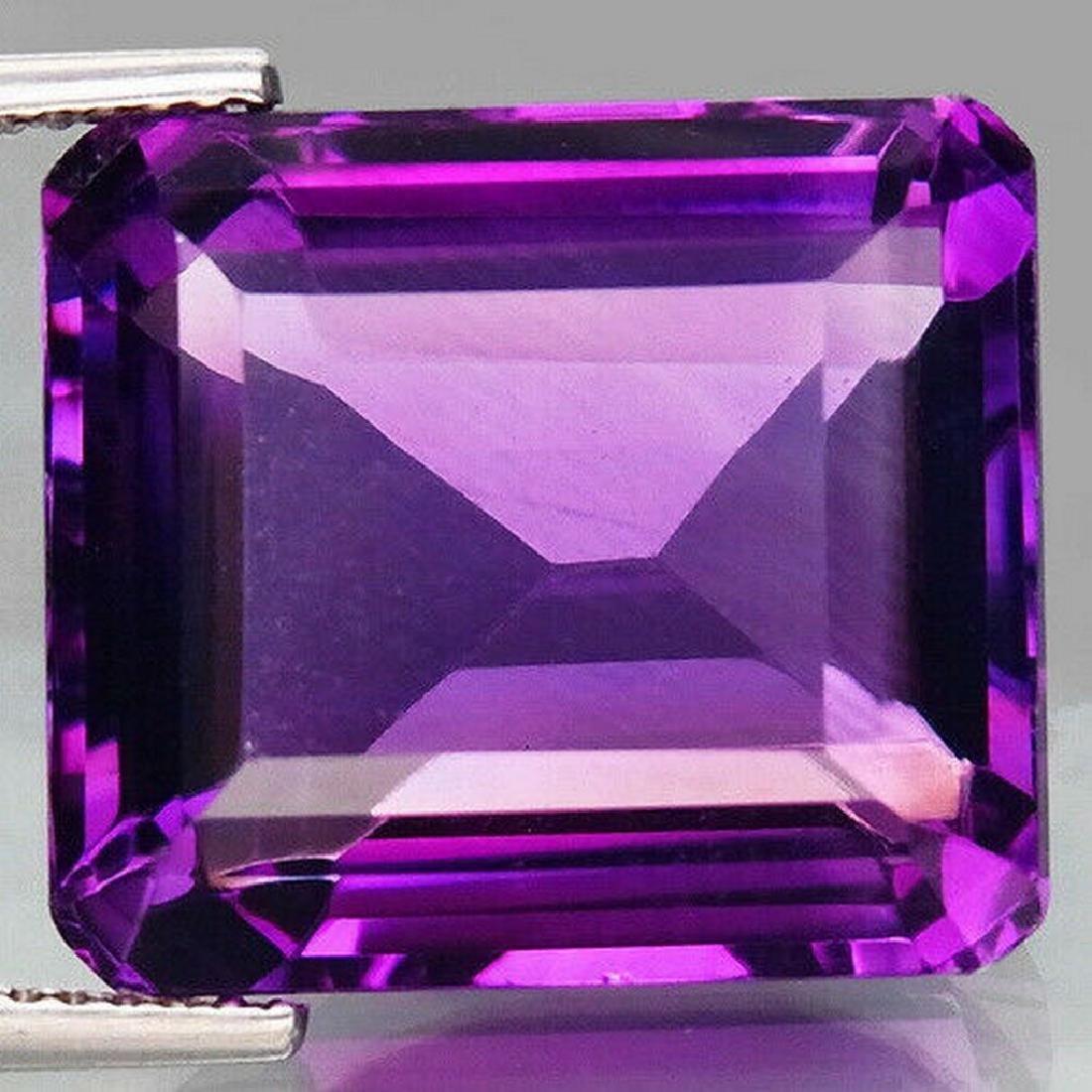 21,29 ct Natural Rich Purple Amethyst