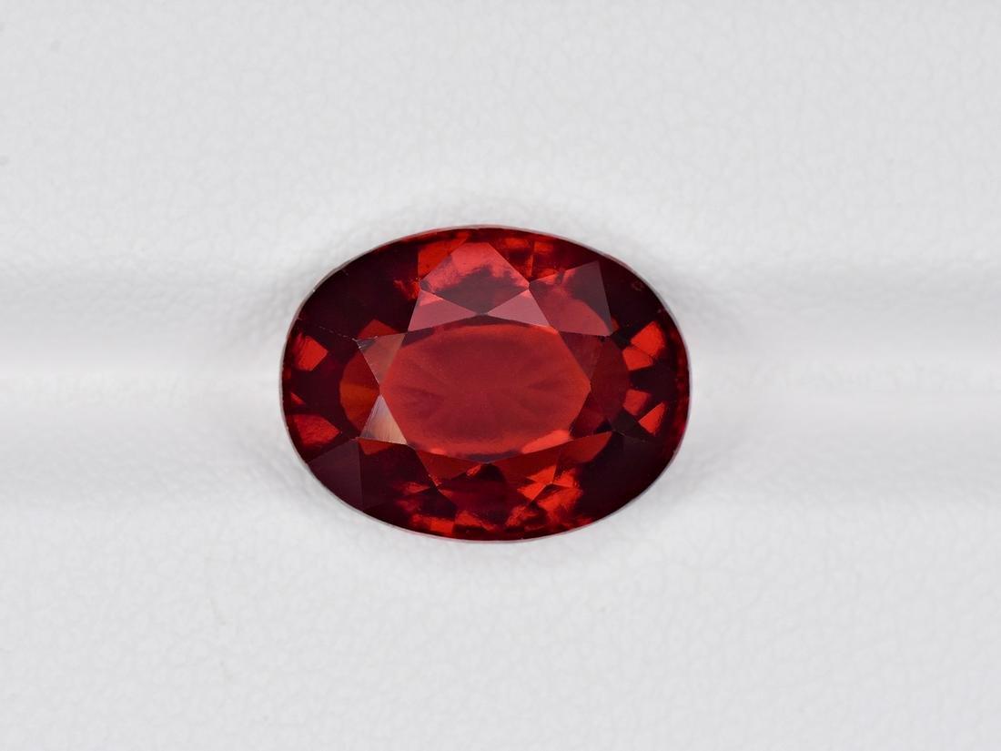 Hessonite Garnet, 6.37ct, Mined in Sri Lanka, Certified