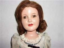 1940 Movie Star Judy Garland Composition Teen Doll -