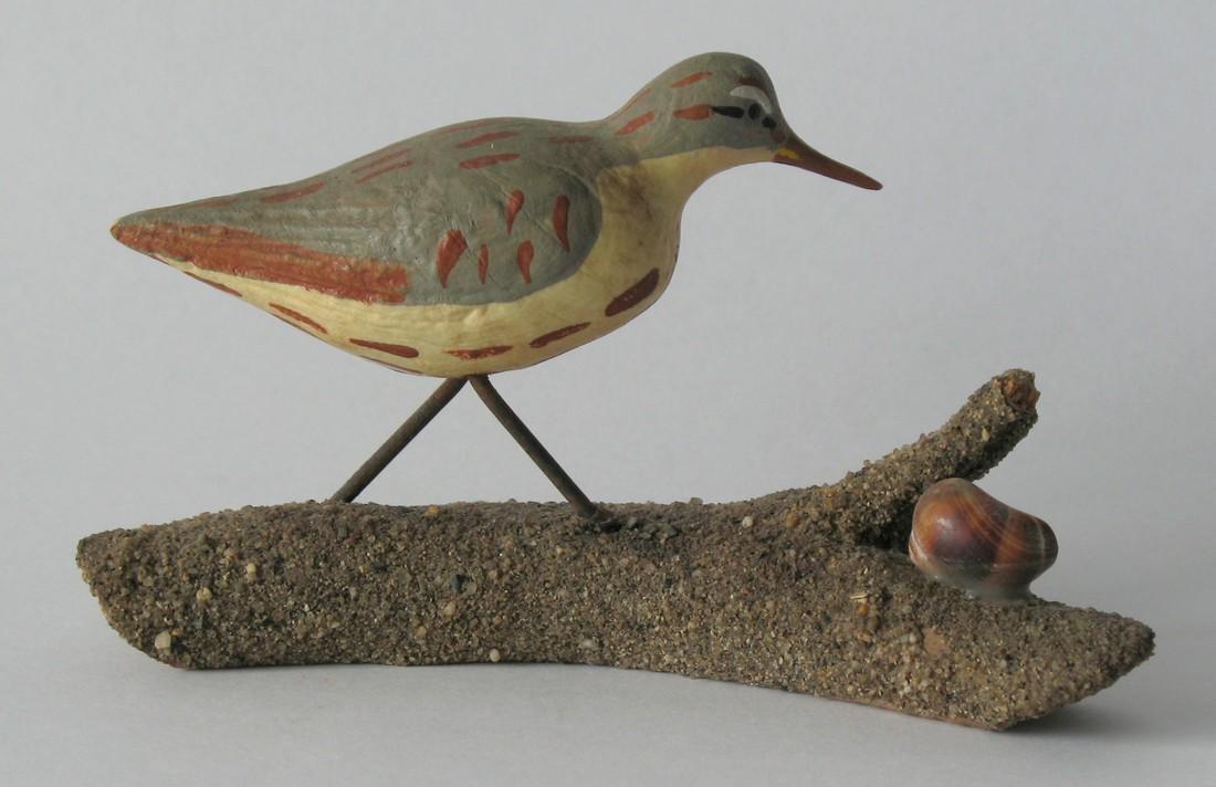 Shore Bird Carving.