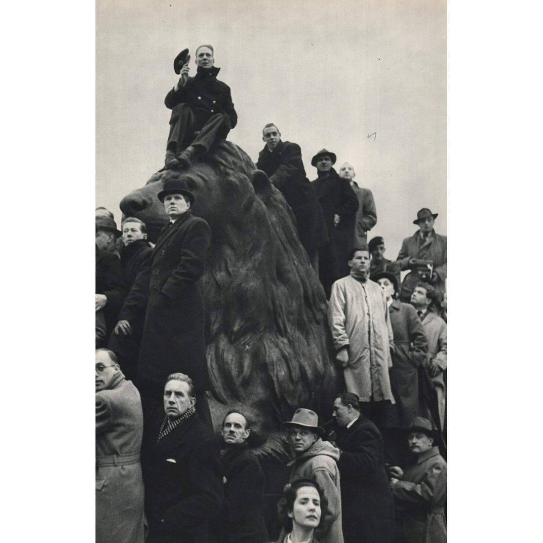 HENRI CARTIER-BRESSON - Funeral Ceremony of George VI