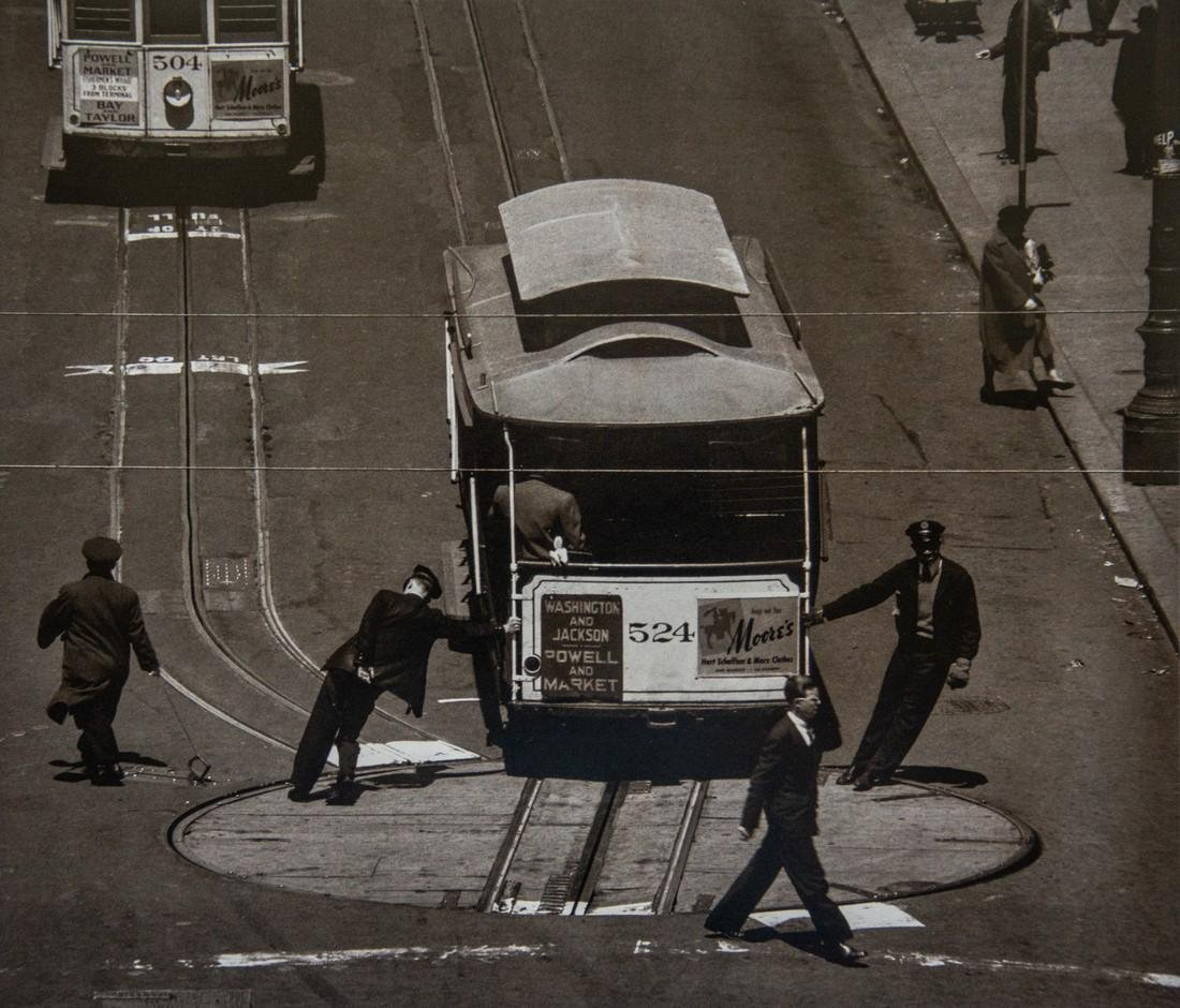 MAX YAVNO - Cable Car, S.F. 1947