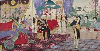 Nobukazu: Emperor and Empress