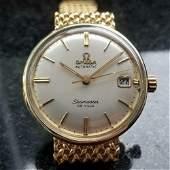 OMEGA Men's 14k Gold Seamaster DeVille 590911 Automatic