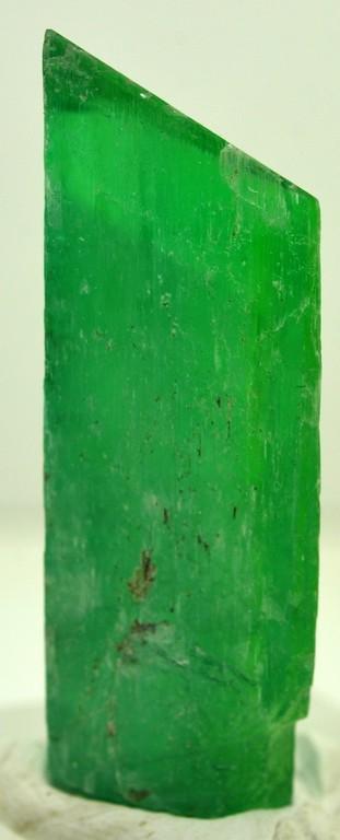 20 Grams Lush Green Terminated Kunzite Crystal