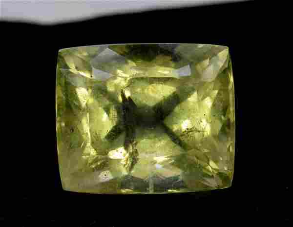 55 cts Huge Size Natural Heliodor / Yellow Beryl