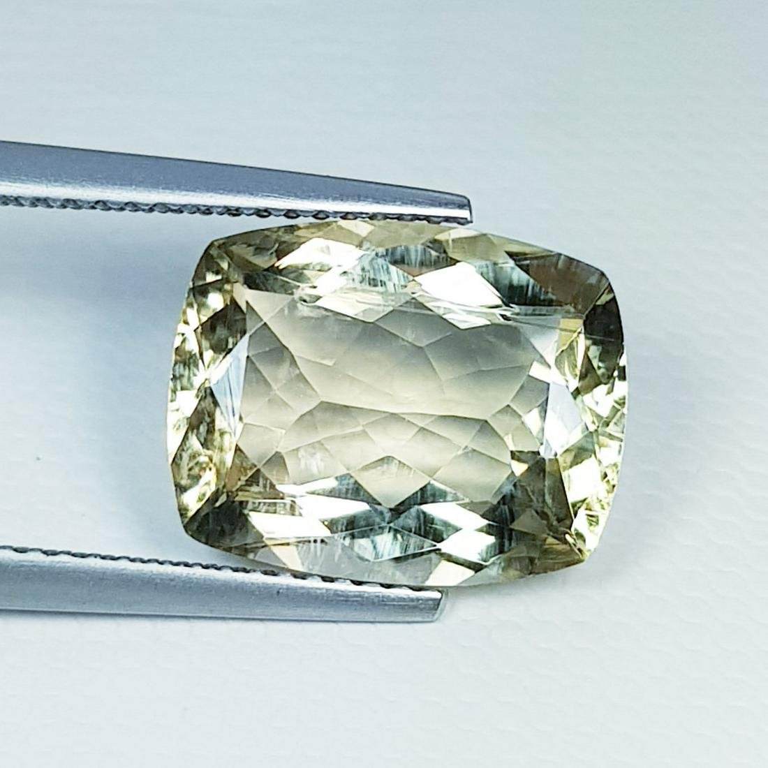 6.17 ct Natural Scapolite Cushion Cut