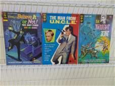 Lot of Three Vintage Gold Key Comics