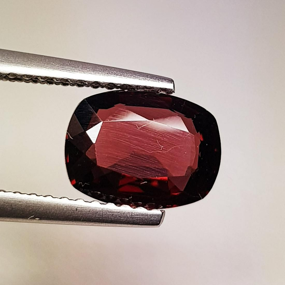 Natural Rhodolite Garnet Cushion Cut 2.20 ct