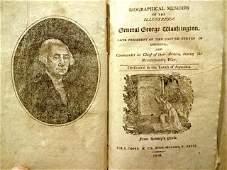 1810 Memoir of George Washington