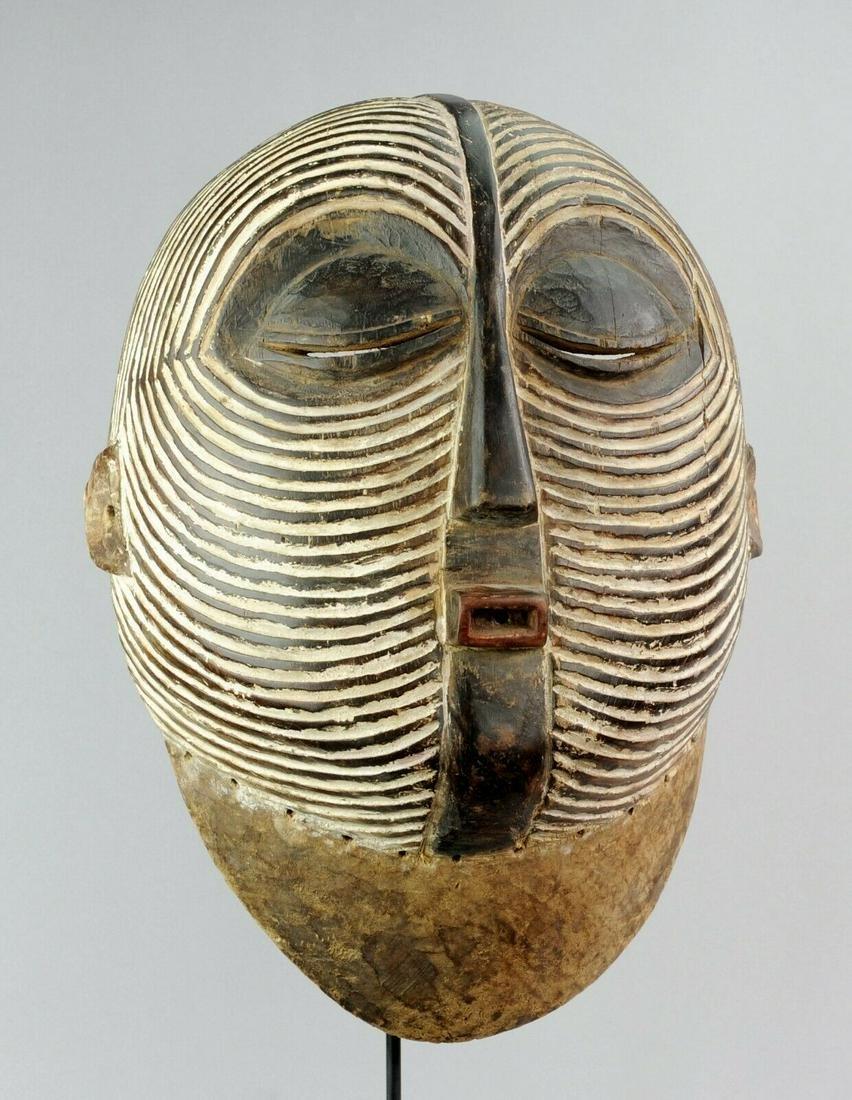 LUBA Large Kifwebe Congo Baluba Mask Provenance African