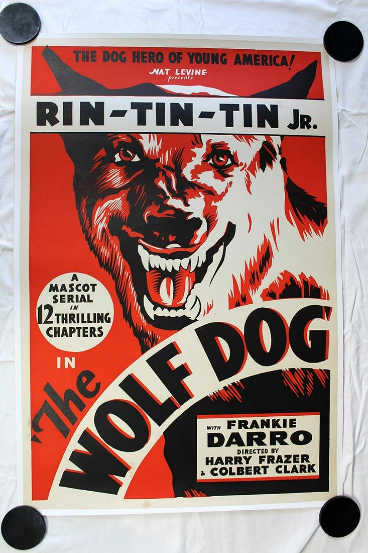 The Wolf Dog (USA, 1933) One Sheet Movie Poster LB