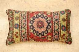 Antique Hand Made of Caucasian Pillow Cushion Rug Kilim