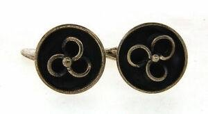 LOVELY Sterling Silver Denmark Cufflinks Circa 1960s