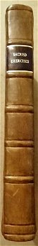 1759 Sacred Exercises Use in Education