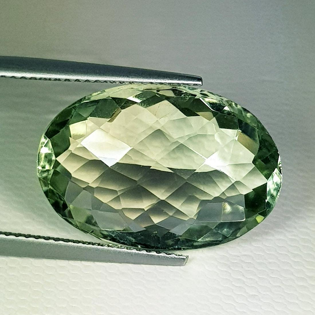 Natural Green Amethyst Oval Cut 16.44 ct