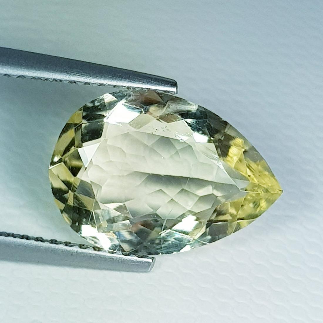 Natural Scapolite Pear Cut - 3.88 ct