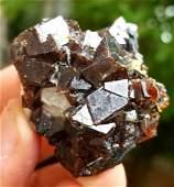 649 Grams Natural Cubic Andradite Garnet Specimen