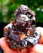 673 Grams Natural Cubic Andradite Garnet Specimen