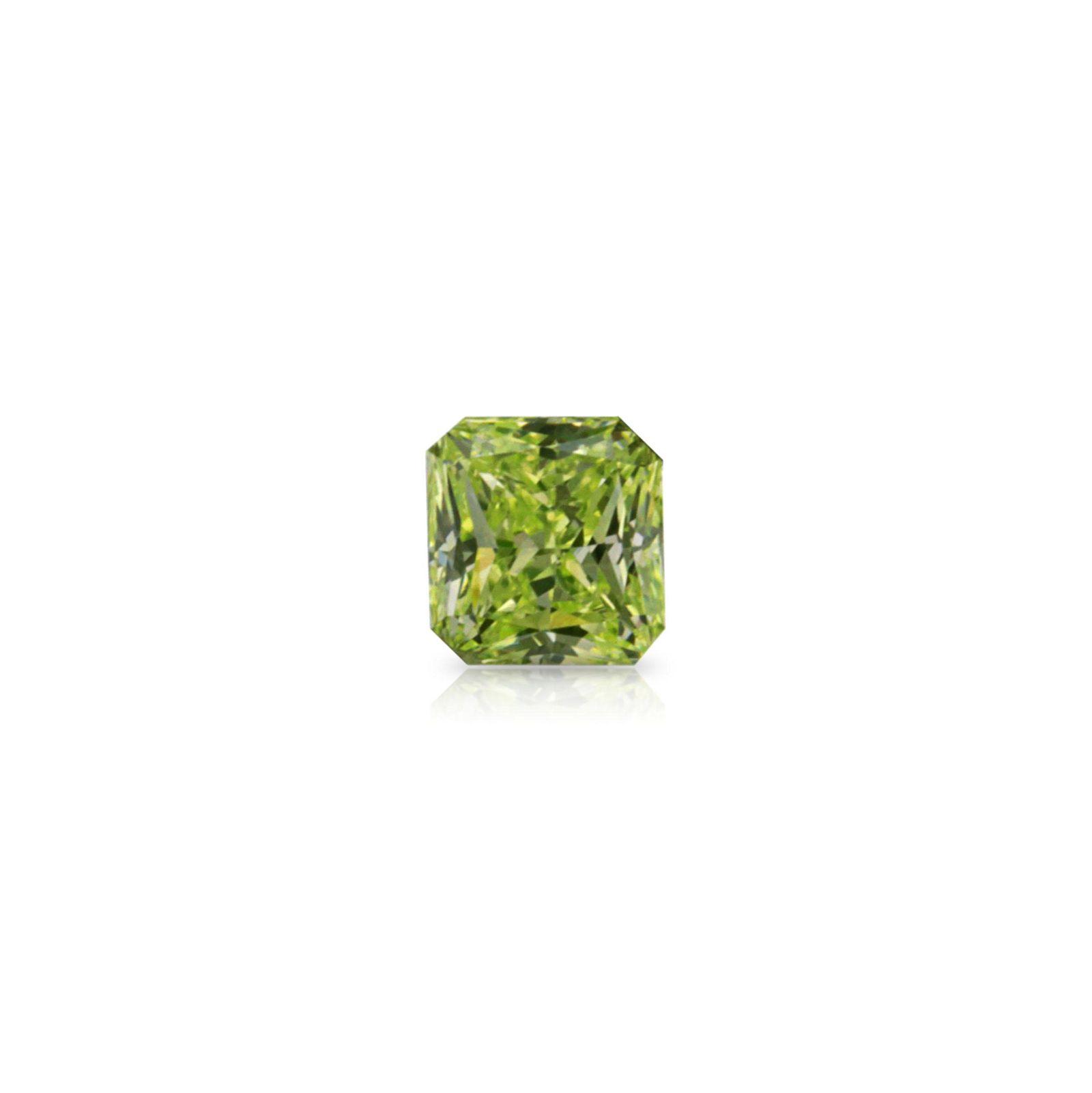 Neon Green Diamond, Natural Fancy Intense Green Yellow