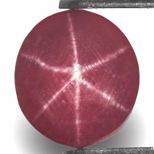 2.98-Carat Indian Star Ruby with Extremely Sharp 6-Ray