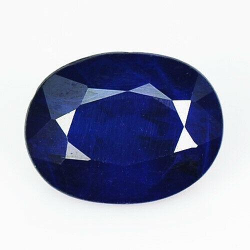 2.14 ct natural cobalt blue spinel Burma