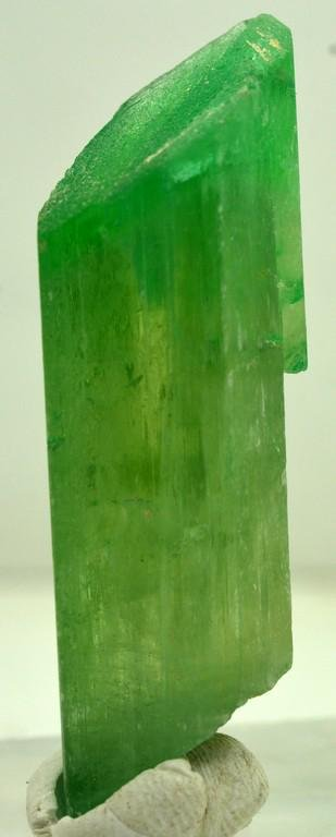 12 Grams Lush Green Terminated Kunzite Crystal