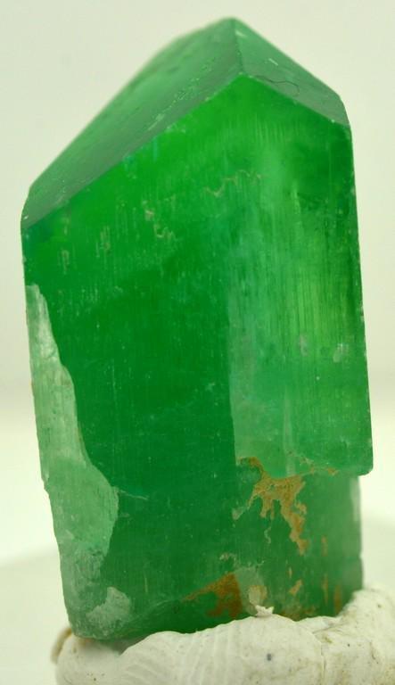 14 Grams Lush Green Terminated Kunzite Crystal