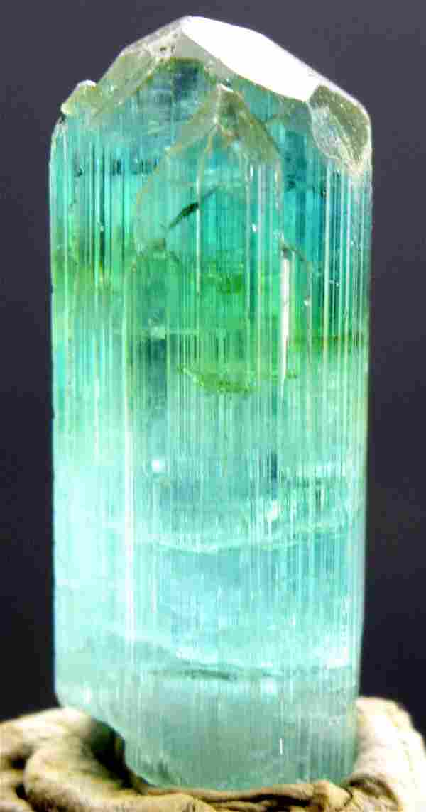 MP01-337 , 56.20 carats Terminated Gem Grade Sea Foam