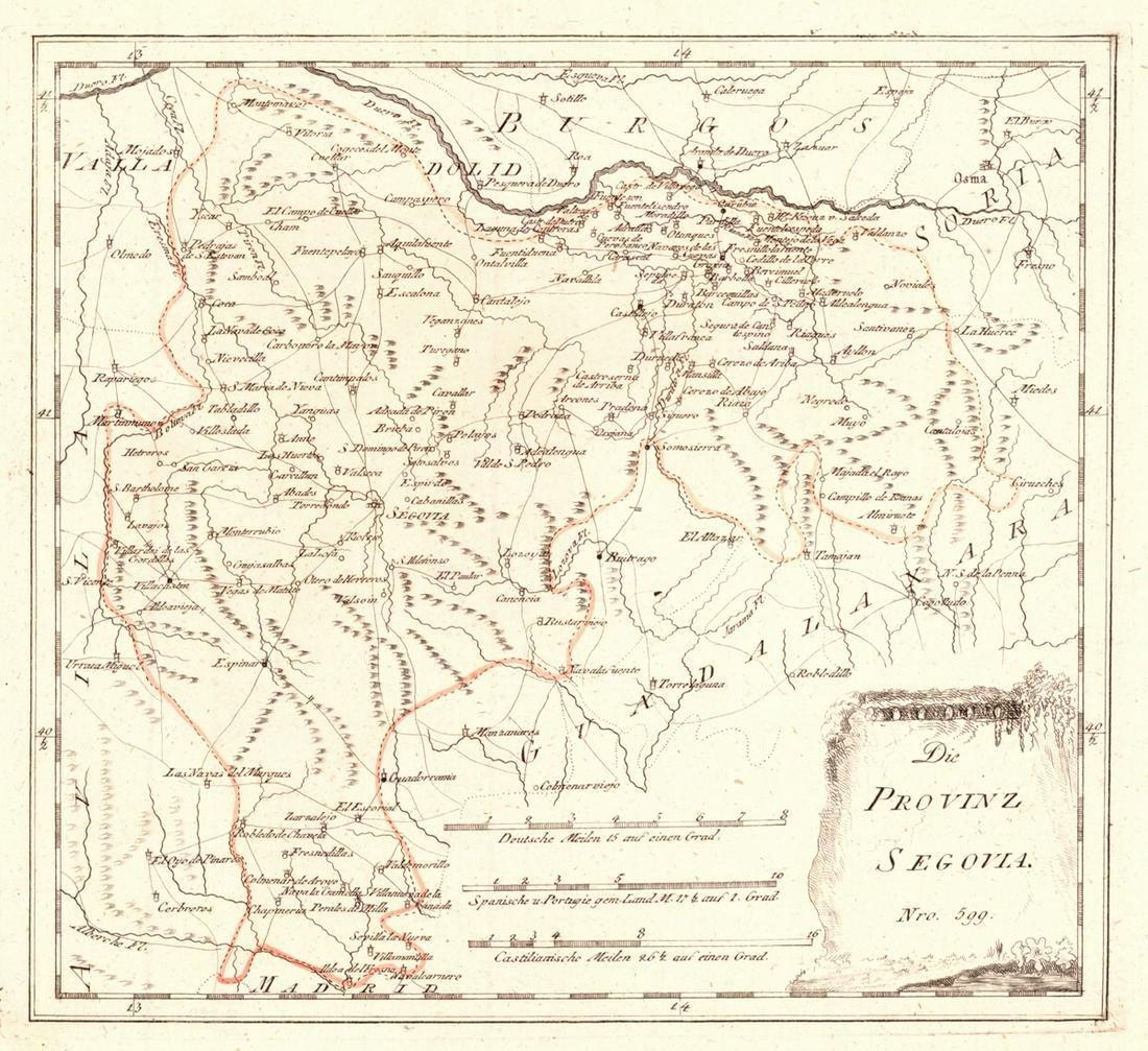 Die Provinz Segovia. Nro.599.