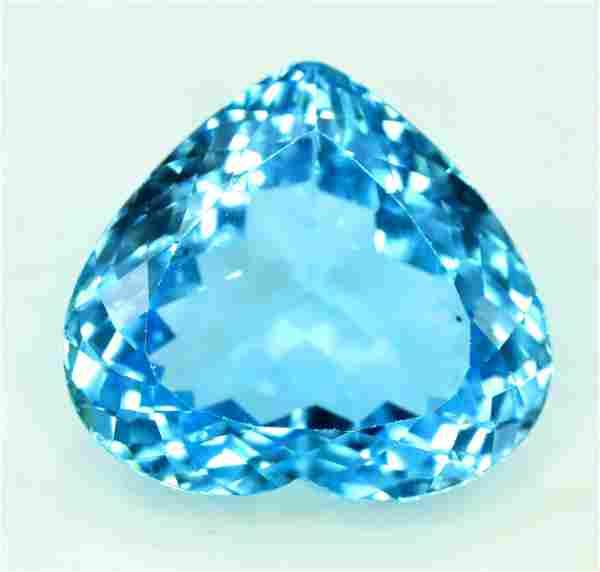 23.40 cts Stunning Electric Blue Topaz Gemstone ~