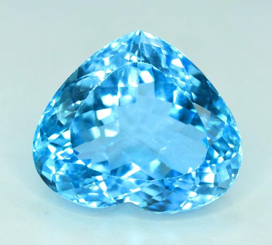 32.70 cts Stunning Electric Blue Topaz Gemstone -