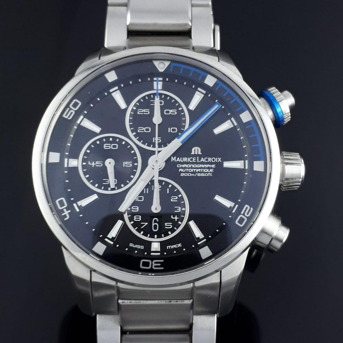 Maurice Lacroix - Pontos S Chronograph, Date, Blue -