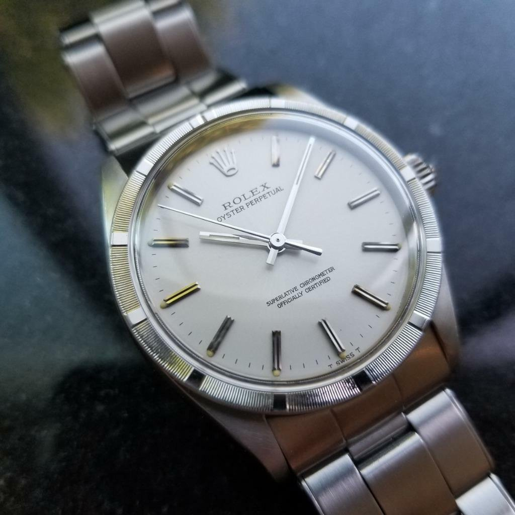 ROLEX Oyster Perpetual 1007 c.1966 Vintage Swiss Auto