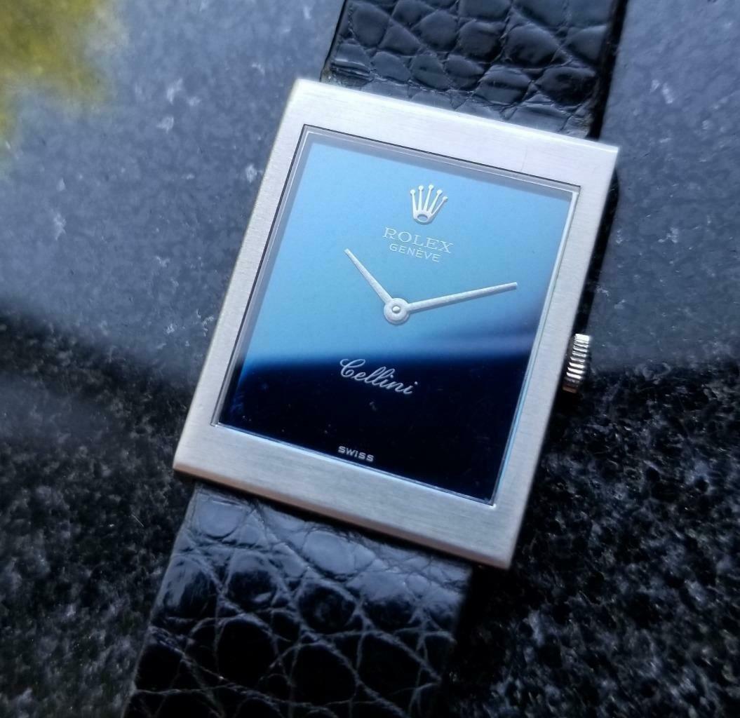Rolex Cellini 18K Solid Gold 1975 Vintage Swiss Watch