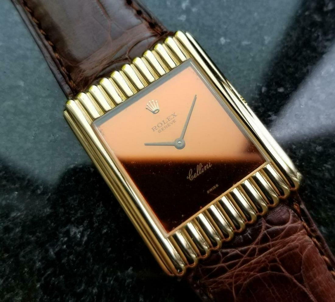 Rolex Cellini 18K Solid Gold 1974 Vintage Swiss Watch