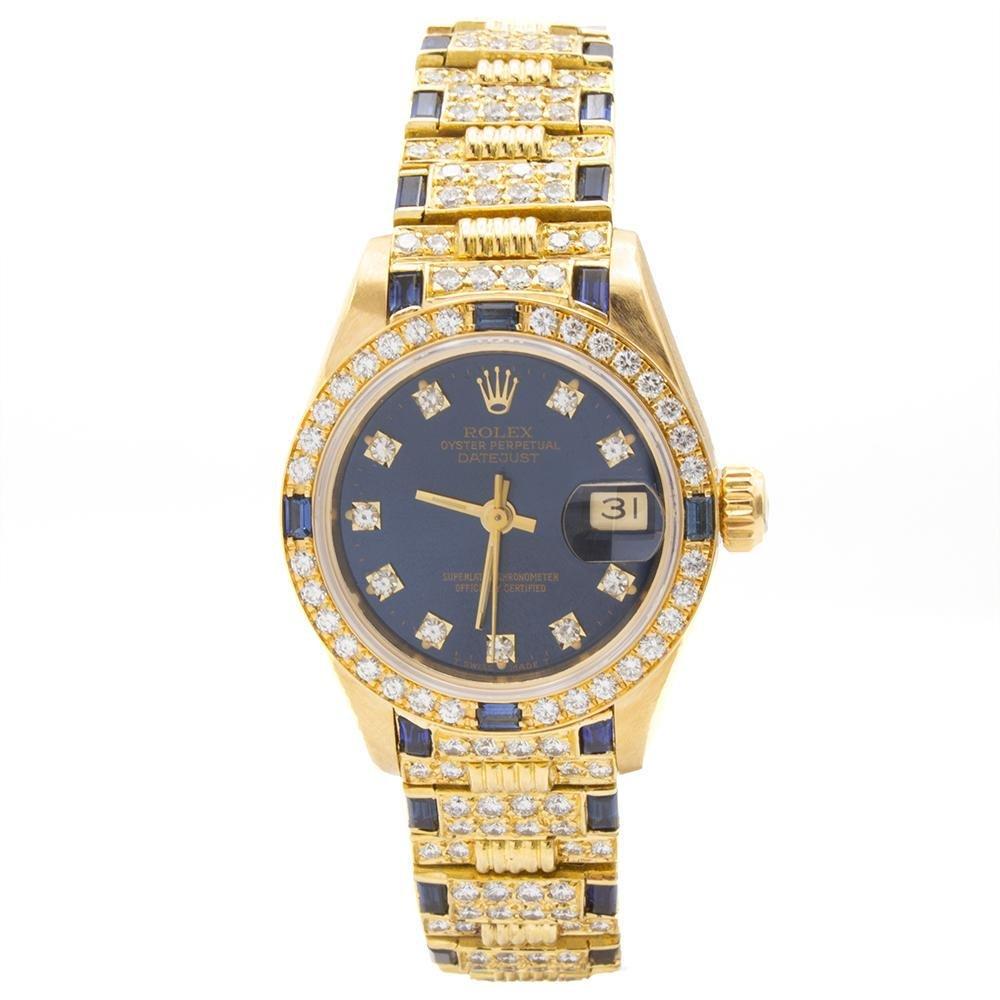 Rolex 18K Datejust Woman watch