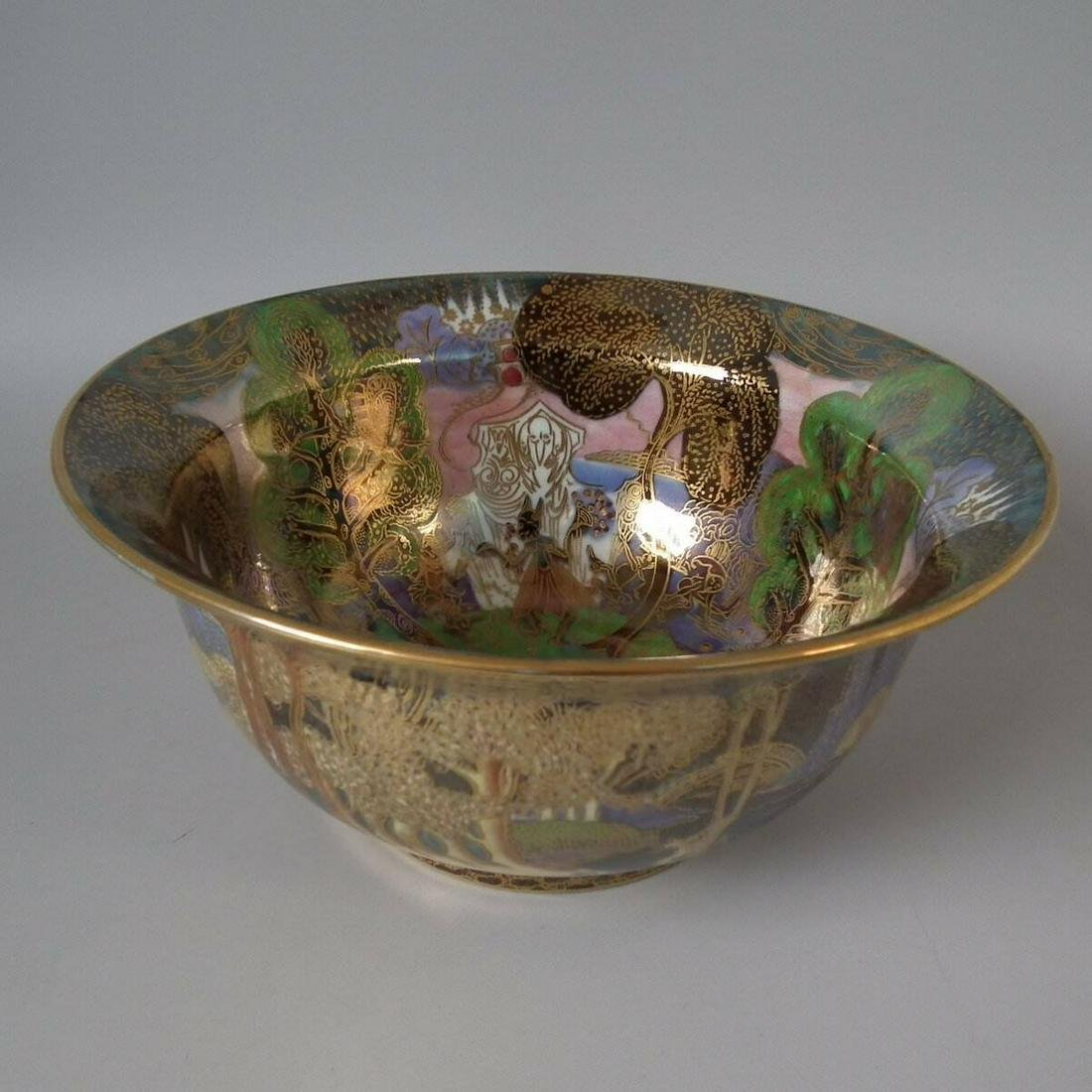 Wedgwood Fairyland Lustre 'Woodland Bridge' Bowl