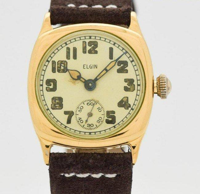 1925 Men's Vintage ELGIN 10K Yellow Gold Filled