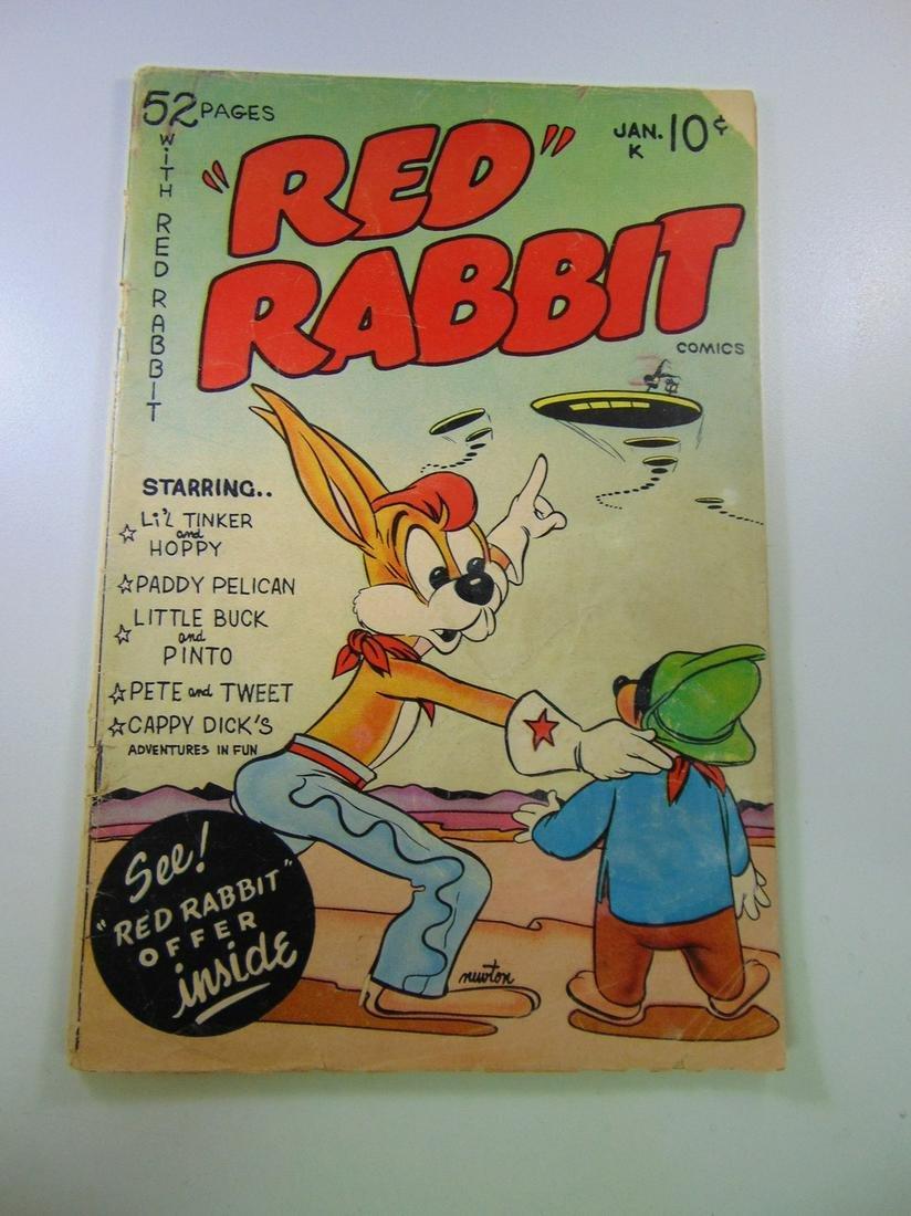 Red Rabbit Comics #18