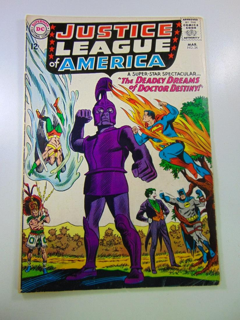 Justice League of America #34
