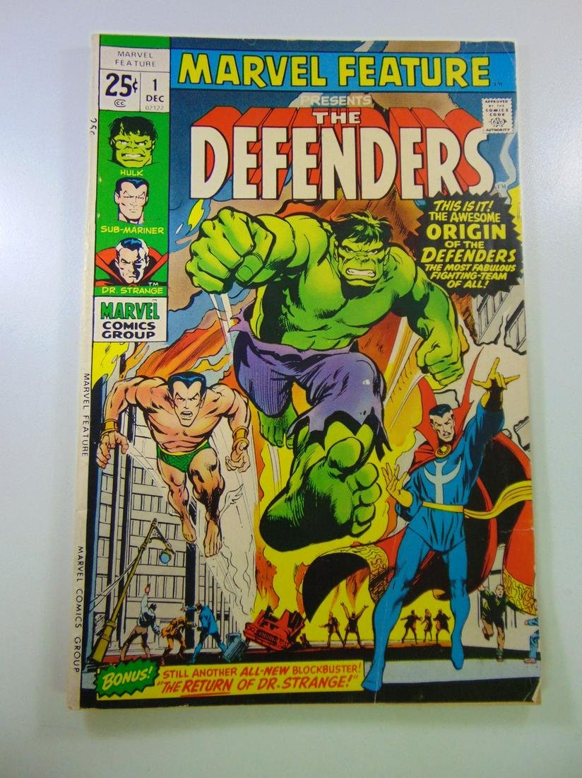 Marvel Feature #1 1st appearance of The Defenders