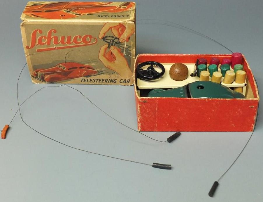 Schuco Telesteering, Made in Germany in 1960s, c9,