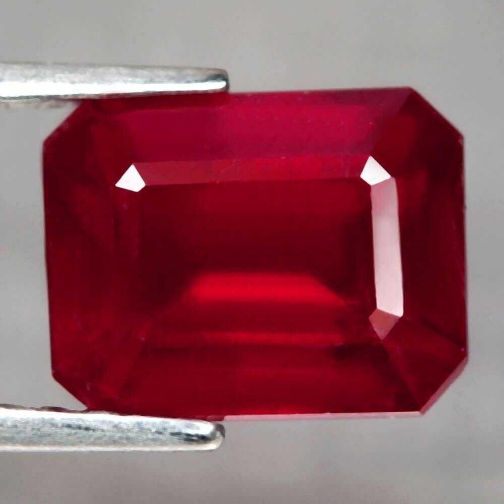 2.43 ct natural blood red ruby